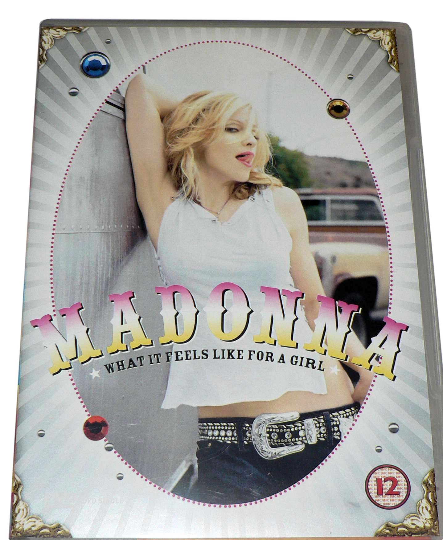 DVD MADONNA What Feels Like For A Girl