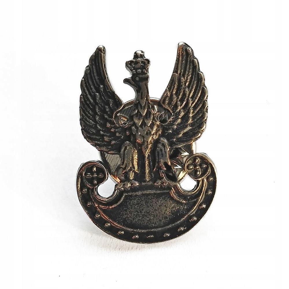 Орел Военный - Застежка металлическая миниатюра доставка товаров из Польши и Allegro на русском