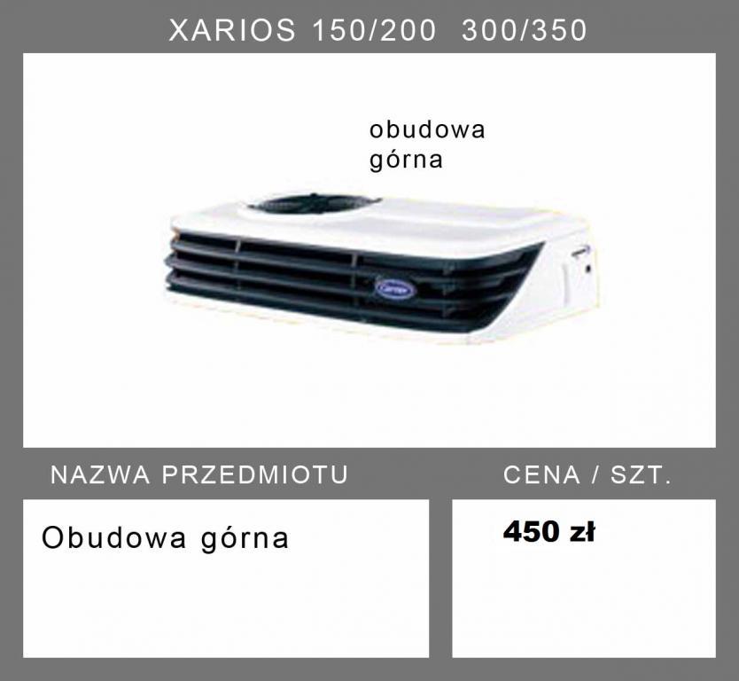 CARRIER XARIOS 150/200 300/350obudowa agregatu