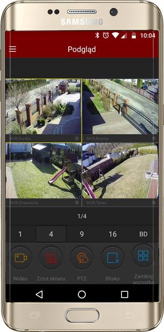 Rejestrator RTX Monitoring IP P2P 16 KAMER LSN9816 Funkcje aplikacja na telefon detekcja ruchu