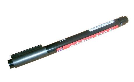 Водонепроницаемый маркер 0,3 мм EDDING черный