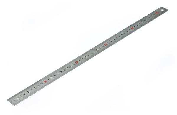 Oceľová línia 600mm Gravírovaná