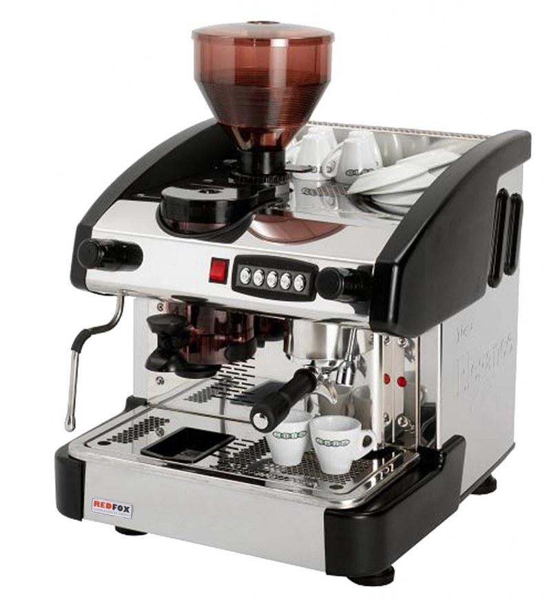 1-GR kávovar. S mlynom - wenge emc1p / w / m