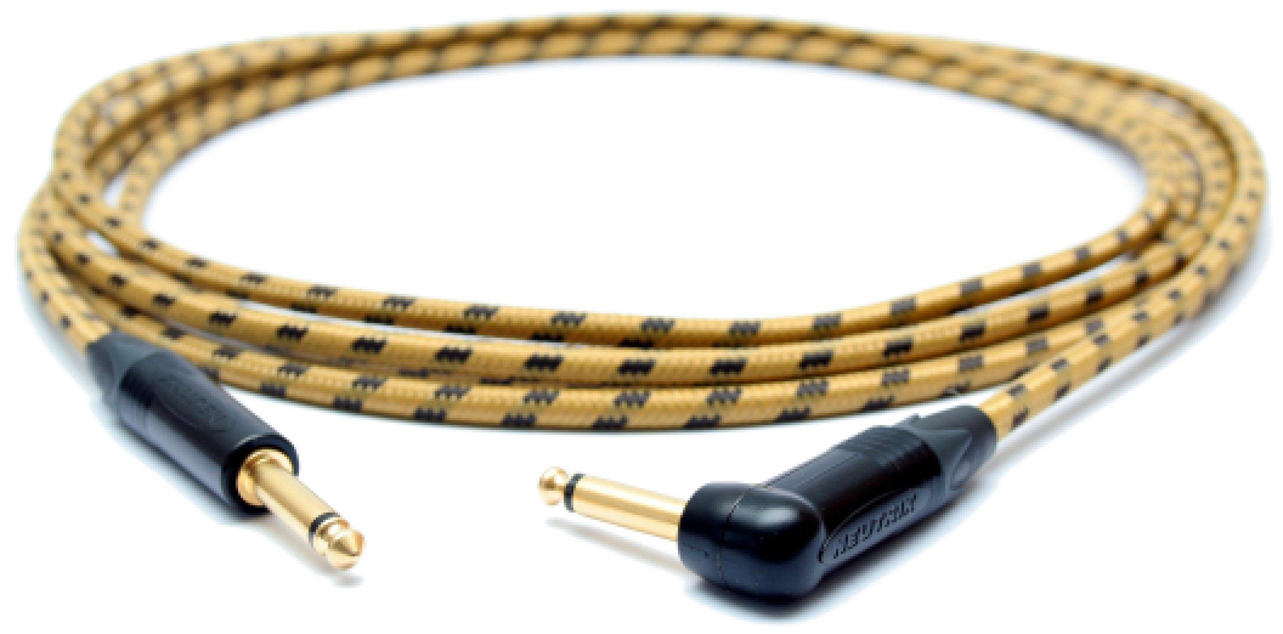 SOUNDSTAGE Kábel 6M GITARA KÁBEL vintage TWEED