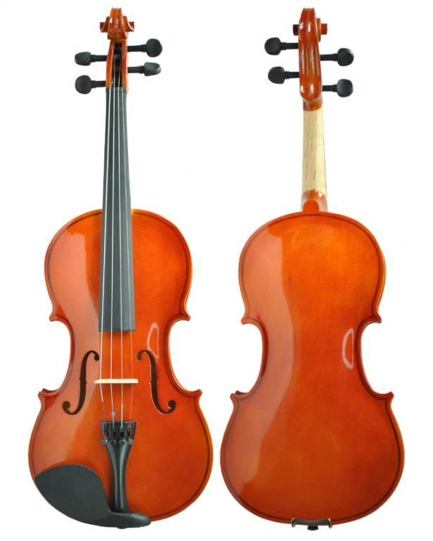 Violin 1/4 + CASE + BEARCAST + CAULRON