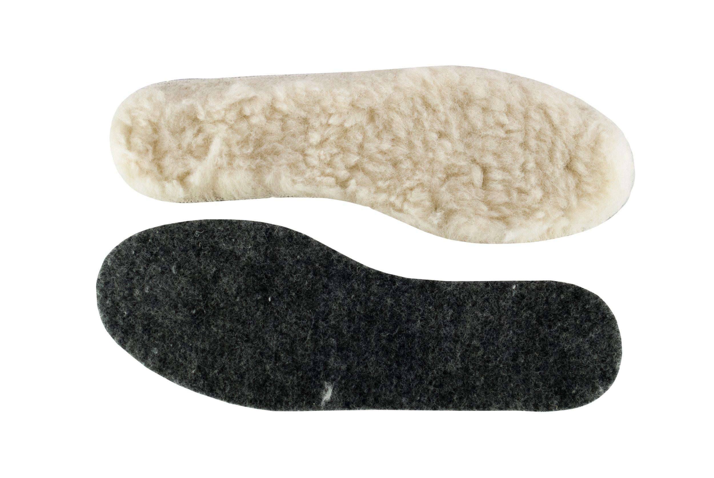 Wkladki в обуви овчина we на na фетр cieple зима