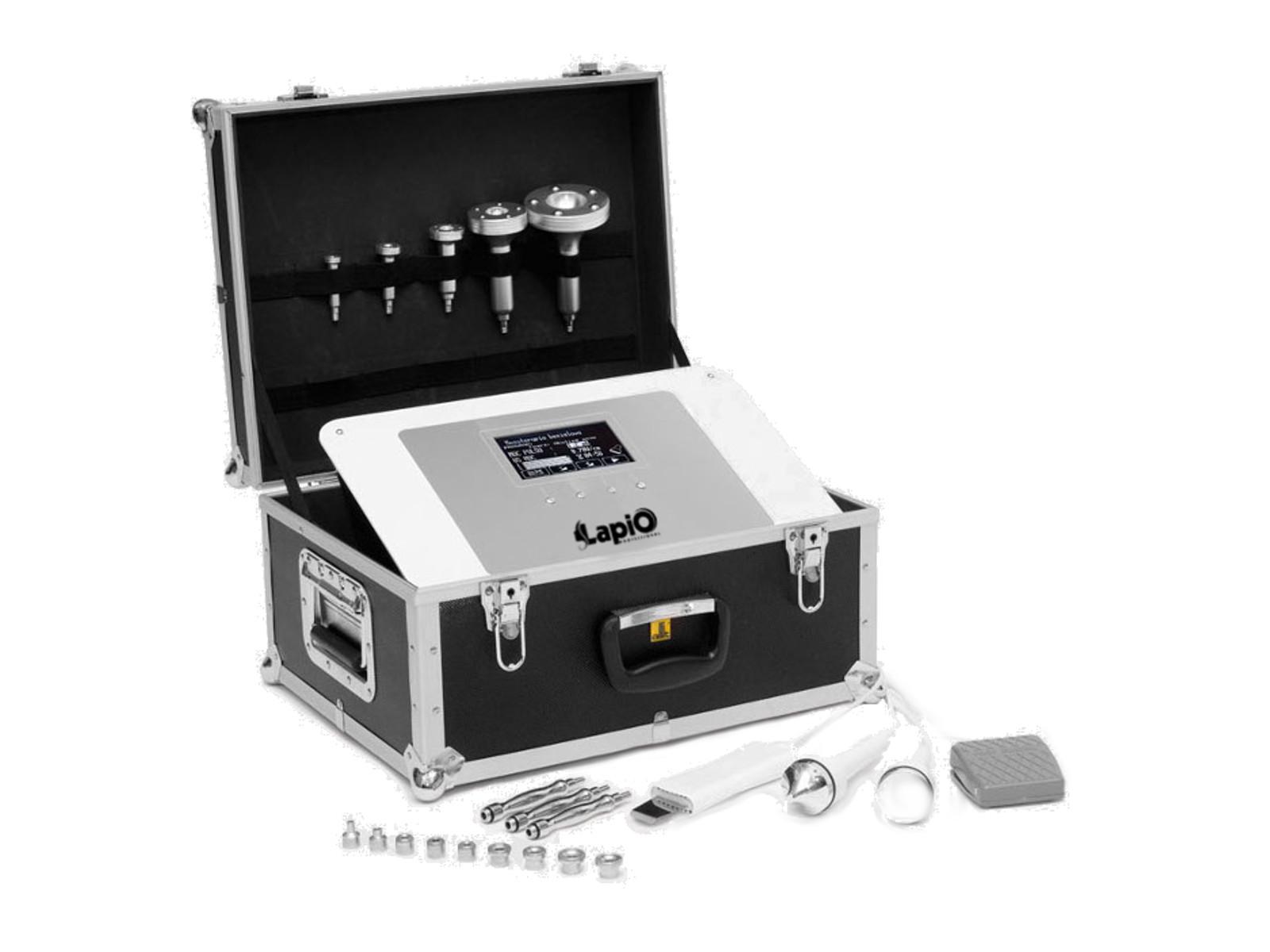 Kozmetické zariadenie 8in1 v kufríku peeling + LED