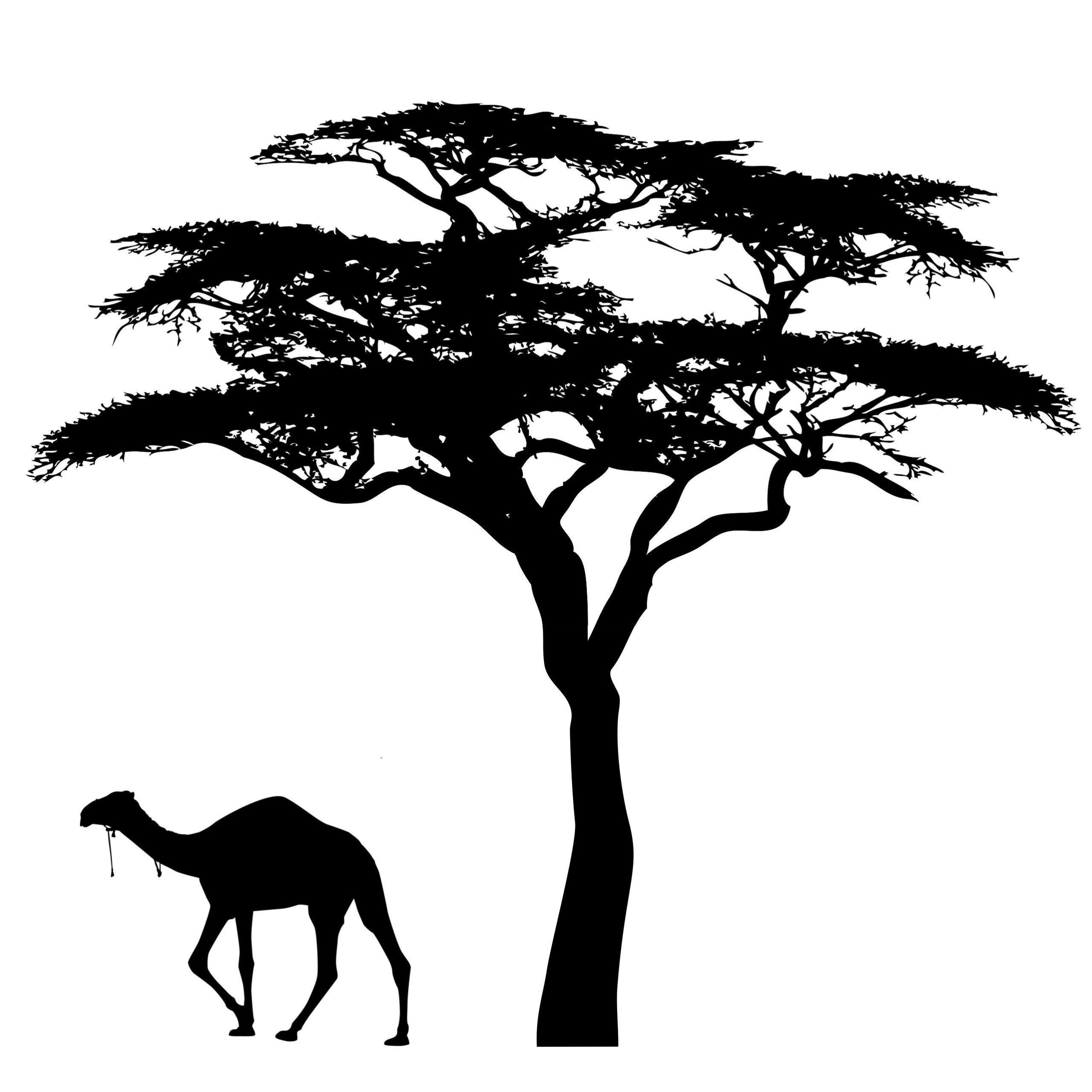 Nástenné nálepky na strome stromu 150cm XXL