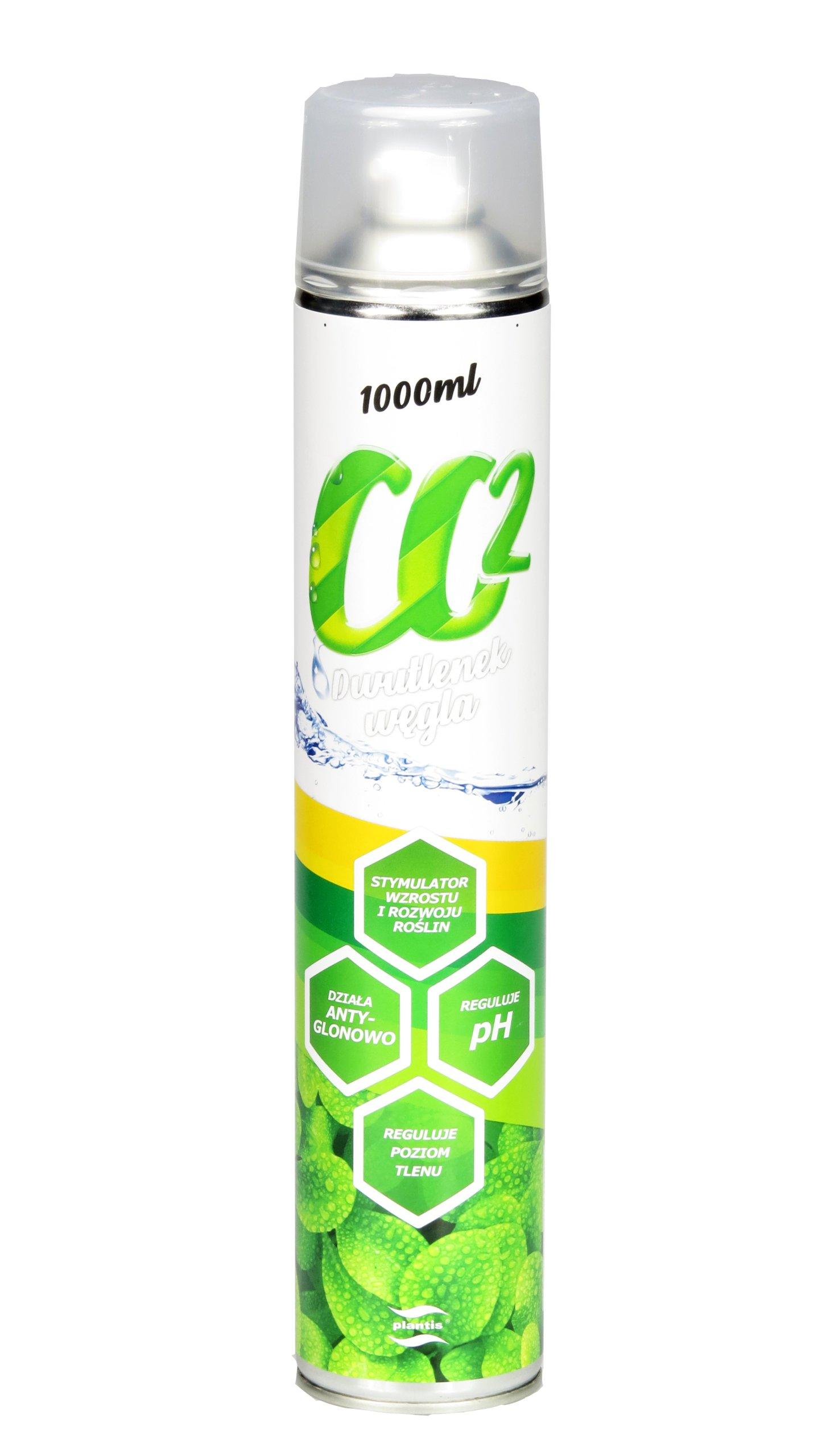 PLANTIS CO2 1x1000ml ЗАПАСНОЙ БАЛЛОН CO2