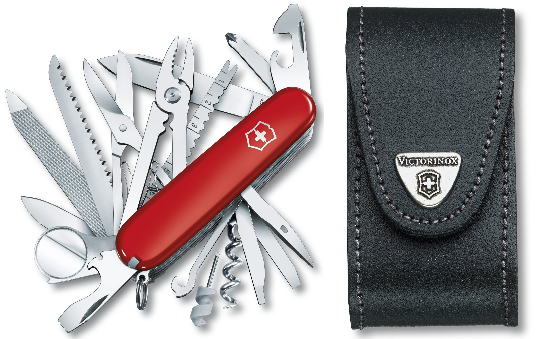 vreckový nôž Victorinox SwissChamp 1.6795+etui4.0521.3