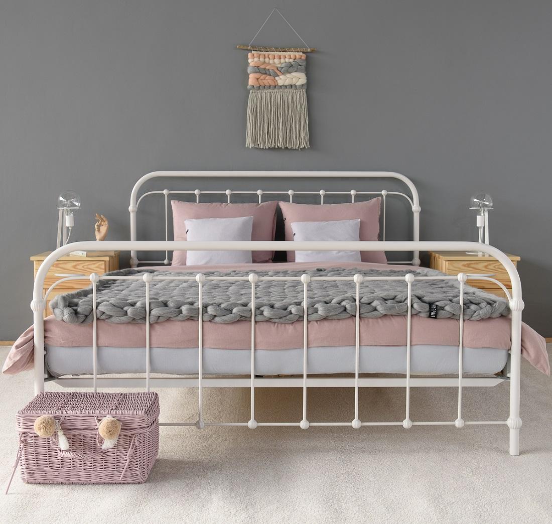łóżko Metalowe Kute Babuni Ii 140x200 Producent