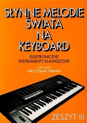 Kniha slávnych sveta melódie na klávesnici CZ. 3