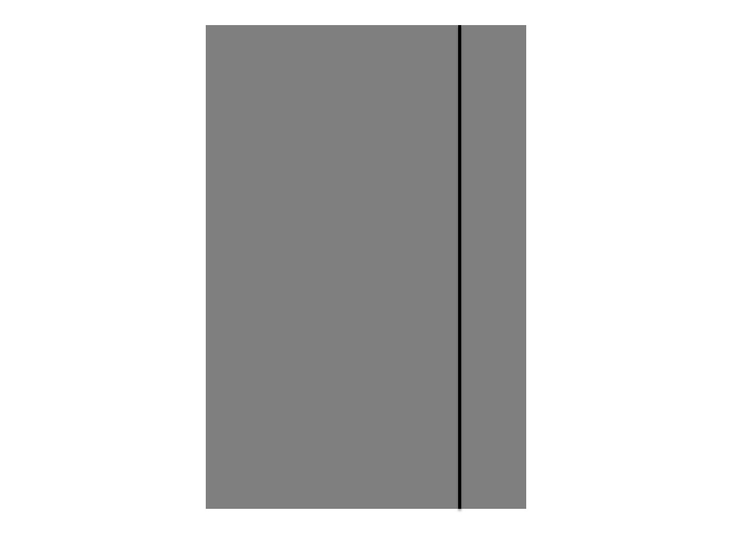 Item Folder with elastic band A4 300G COLOR - GRAPHITE