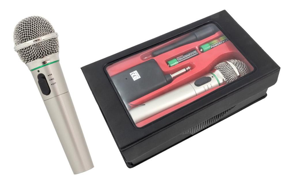 Bezdrôtové karaoke mikrofónové konferencie
