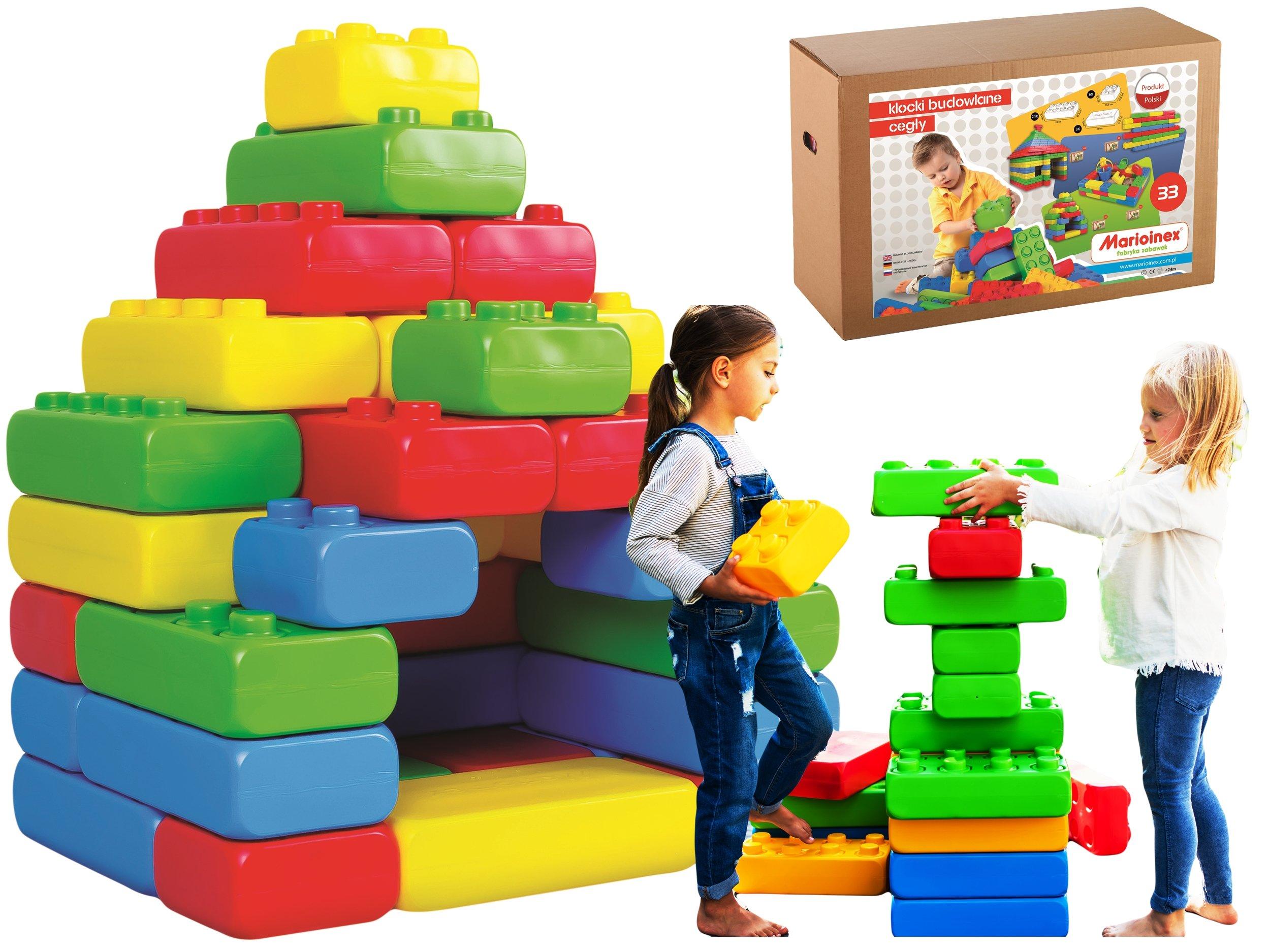 Stavebné bloky Tehla najväčšie Allegro Blocks!