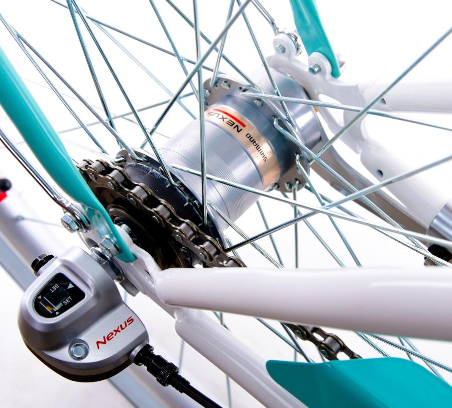 Dámsky mestský bicykel 28 GRACJA s 3 prevodmi, holandská značka, ďalej