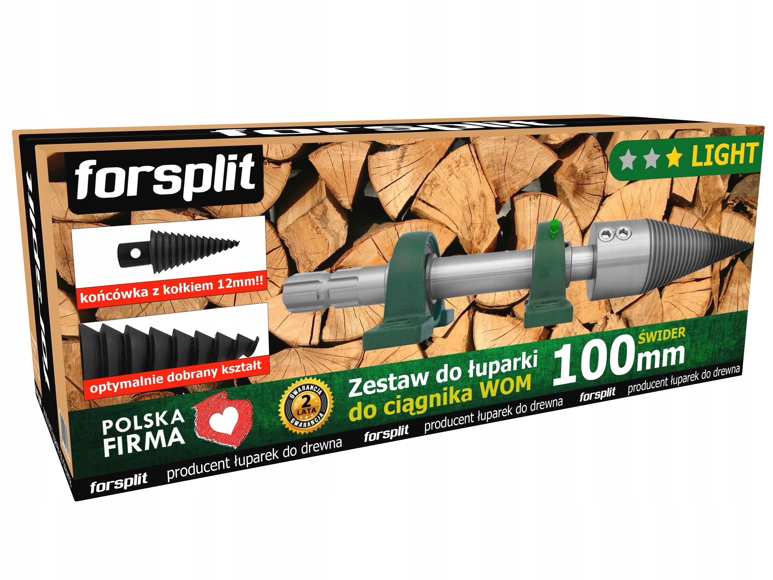 Drevo / Vrták na drevo 100 mm na traktor (PTO)