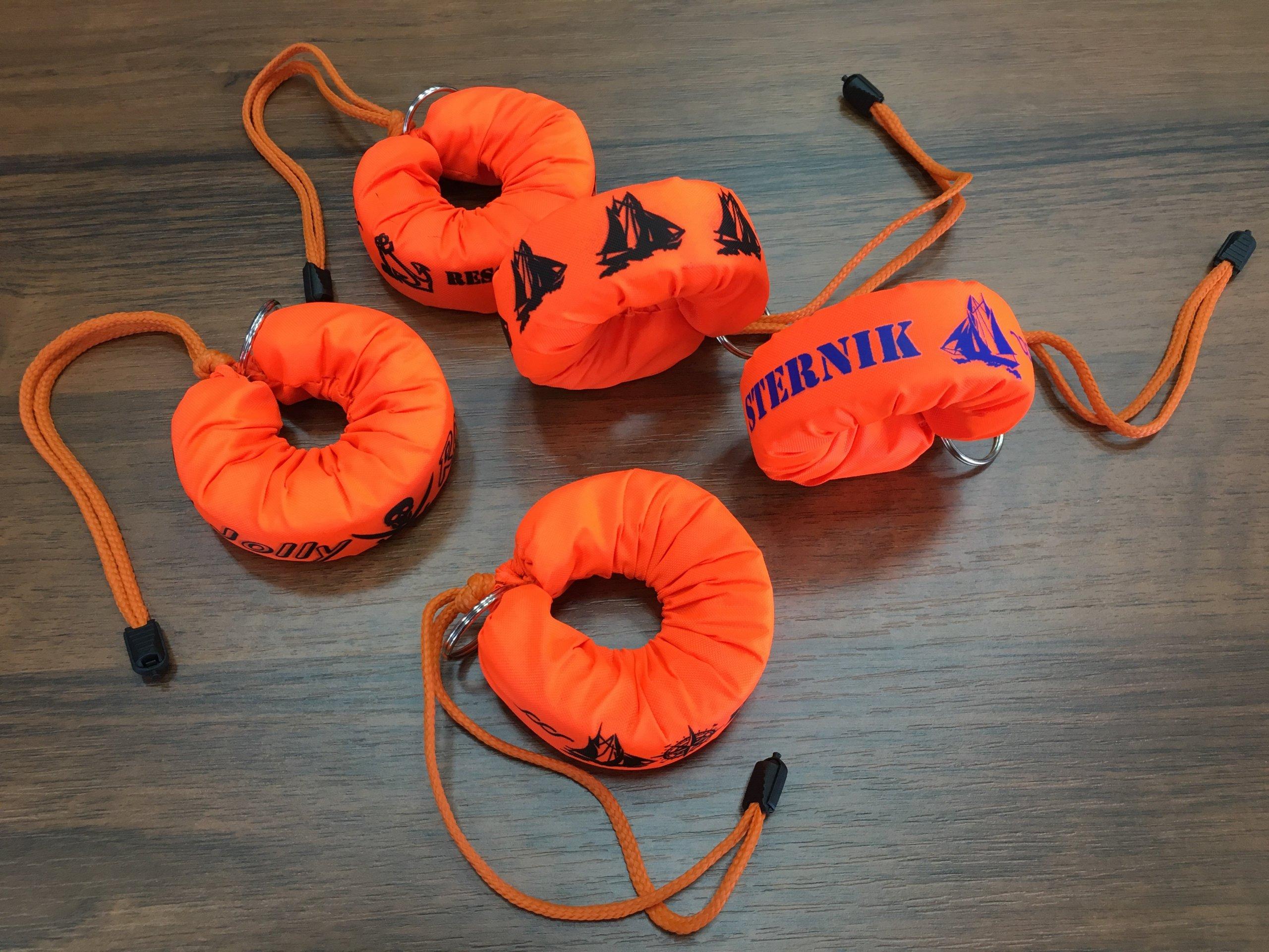 Plávajúci keychain typu Lifebuoy