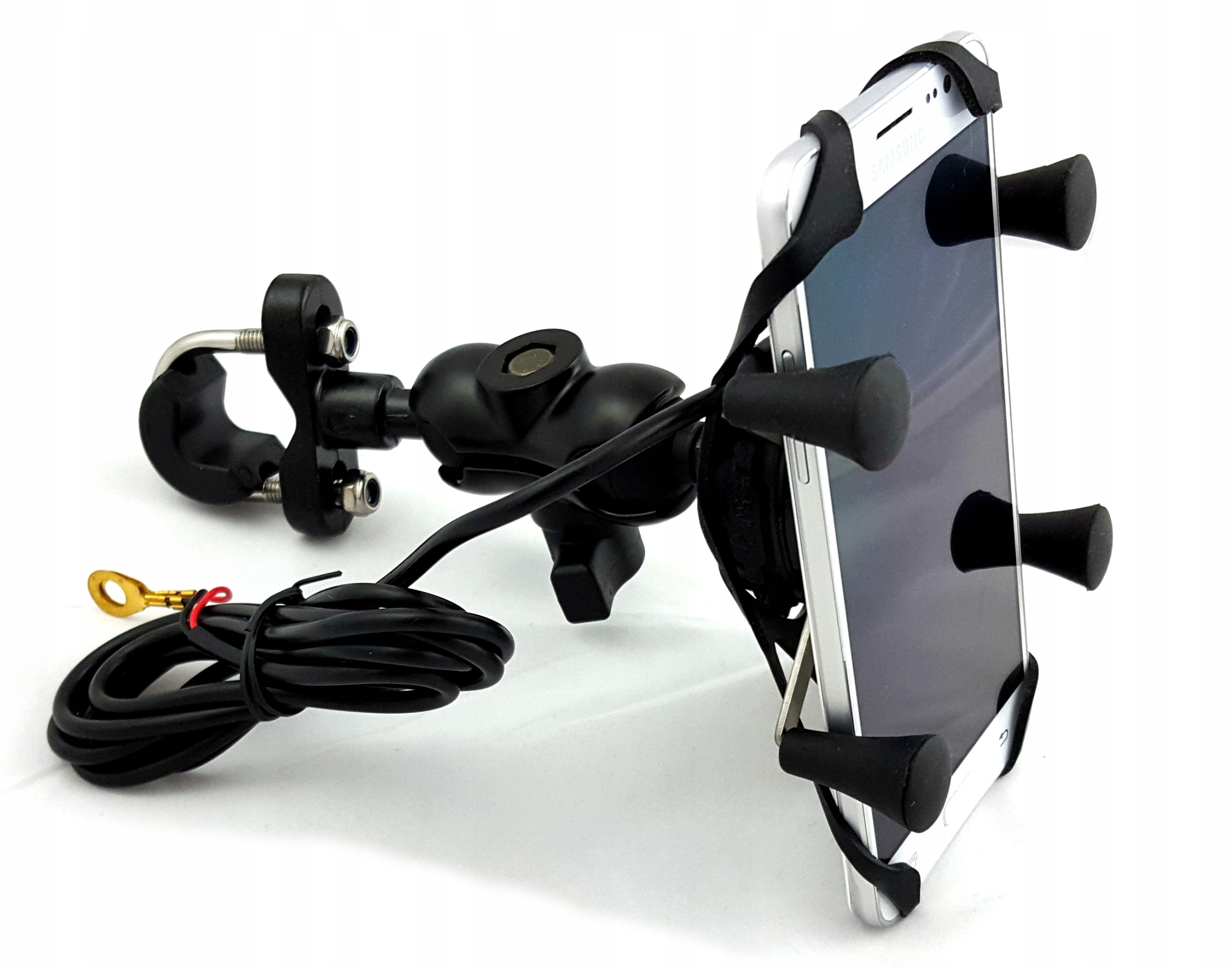 Item MOTORCYCLE HOLDER RAM ON THE PHONE MIRROR ON/OFF