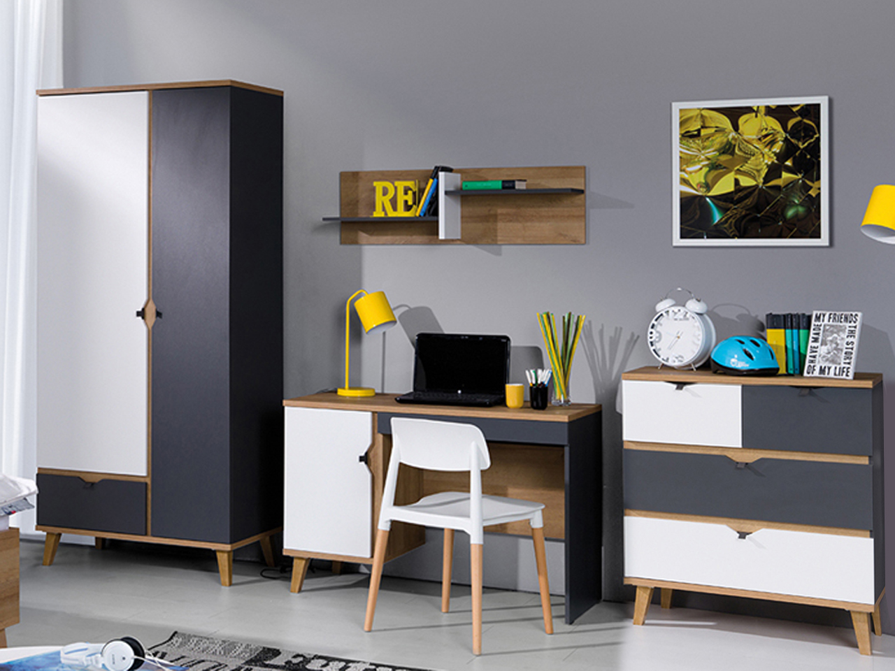 Мебель молодежные системные MEMONE комплект 19
