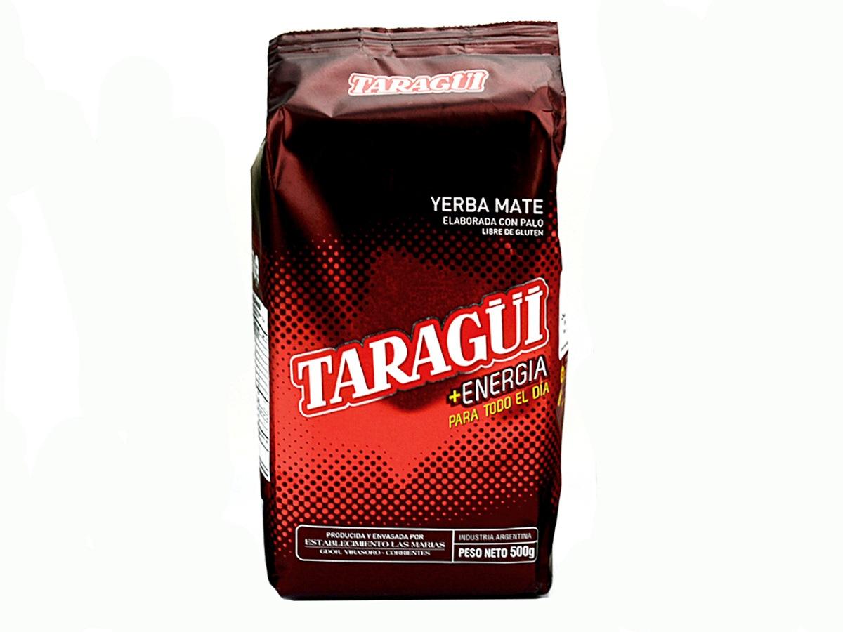 Купить Yerba Mate TARAGUI ENERGIA 500g мощность, стимулирование на Otpravka - цены и фото - доставка из Польши и стран Европы в Украину.