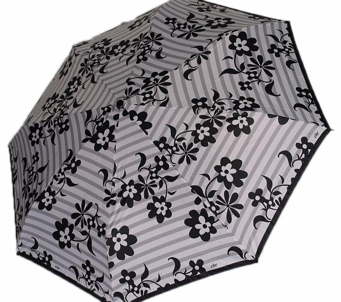 Parasol Cacharel sedmokrásky a sivé pásy Automat