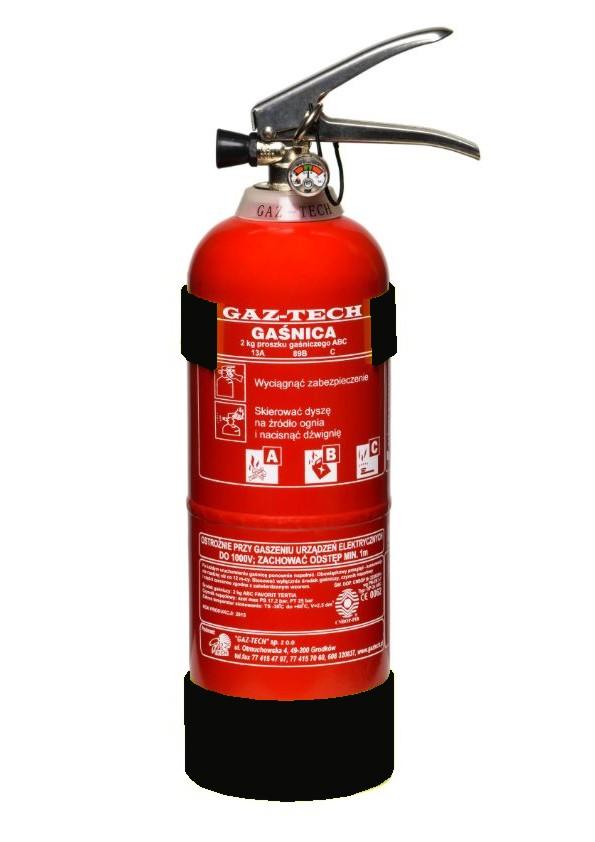 Огнетушитель GP 2 кг ABC/E INOX огнетушители + вешалка