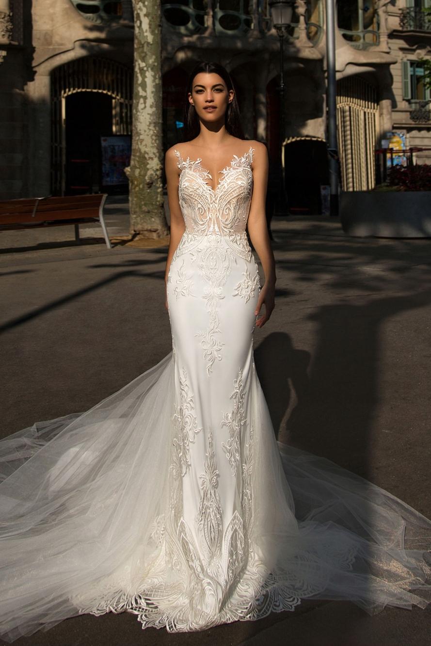 Suknia ślubna Milla Nova R34 Welon Model Bler 7760823268