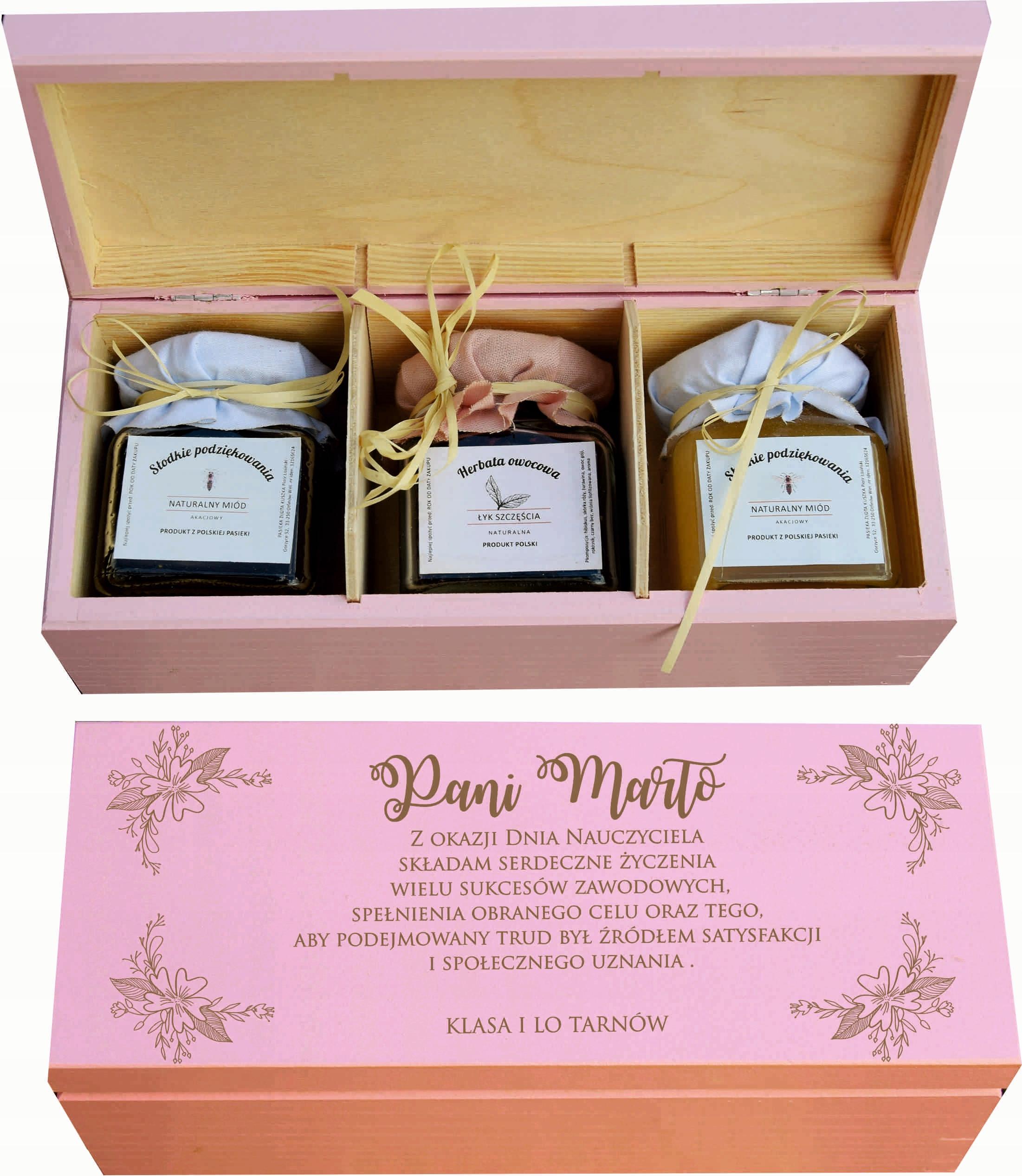 Zestaw Miod Herbata Prezent Dzien Nauczyciela 7588464211 Allegro Pl