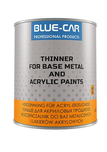 BLUE-CAR ROZCIEŃCZALNIK ROZPUSZCZALNIK 500ML 0,5L