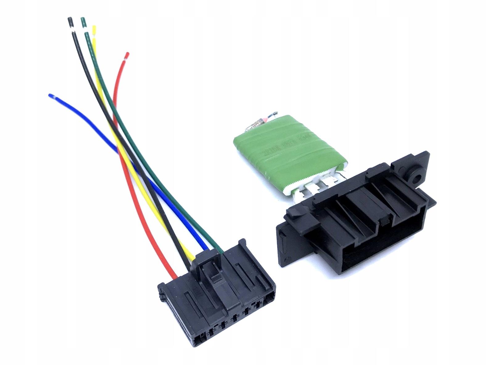 резистор резистор + разъем  ducato boxer jumper 06-