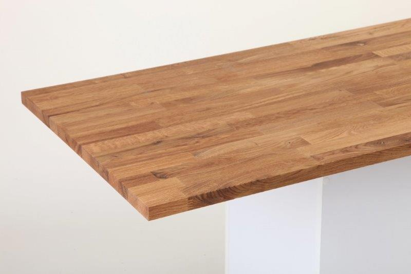 Doska drevo Dub Dub 27x650x1000mm AV BC IKEA