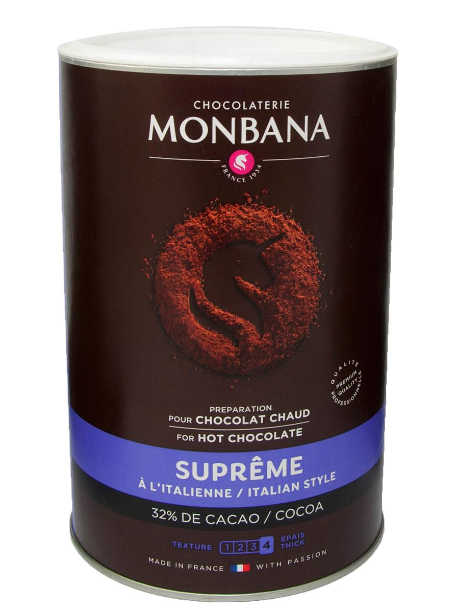 Čokoláda, pitie teplej Monbana Najvyššieho 1kg