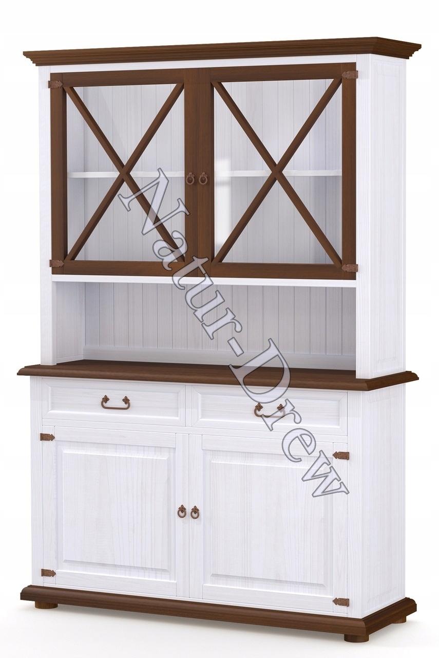 100% Retro drevený príborník Dokonalá domáca dekorácia