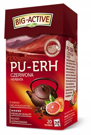 Herbata Czerwona Pu-Erh Grejpfrut Ex20 Big-Active