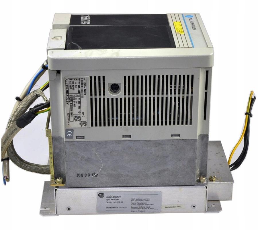 Inverter 0.55KW Allen-Bradley 1305-BA02A s filtrom