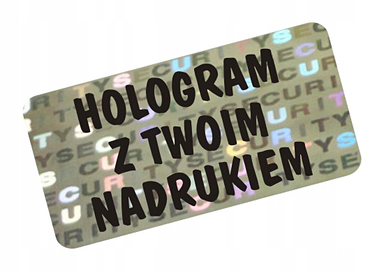 Item NH-210 - 30x11mm HOLOGRAM SECURITY VOID SEAL