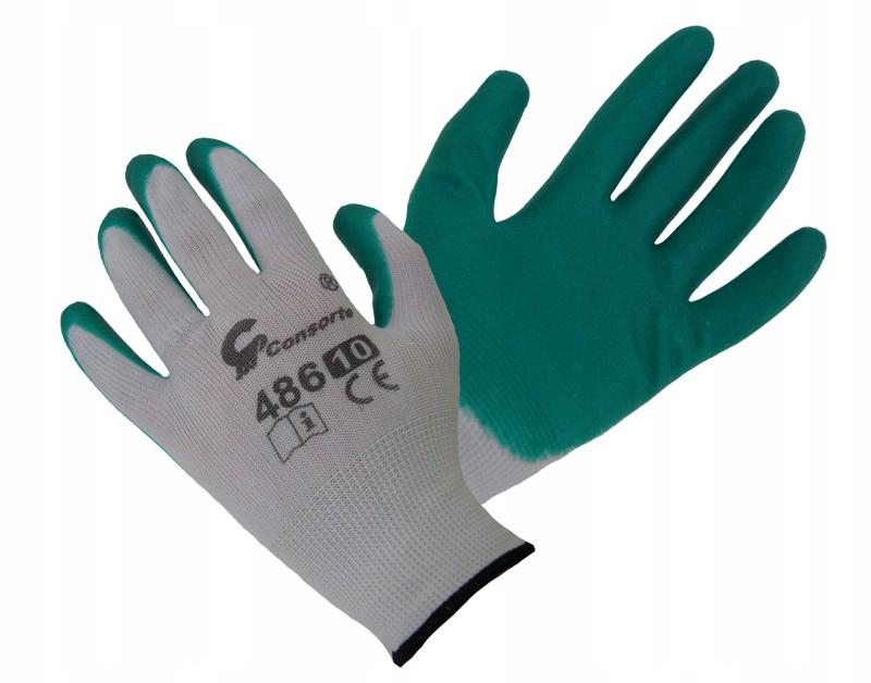 Latex Gumové varené rukavice ROZ 9