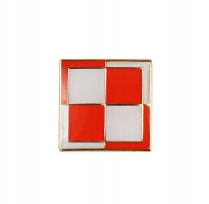 Купить Застежка pin wpinka шахматная доска авиакомпания Польша на Otpravka - цены и фото - доставка из Польши и стран Европы в Украину.