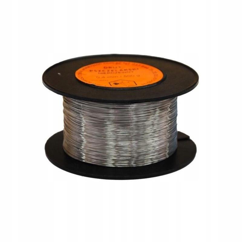 Drut nierdzewny do ramek (0,4 mm) 500g -wzór 40642