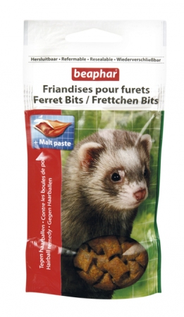 Beaphar kitty-milk, kitty-milk Ferret Bits лакомство для хорьков 35g