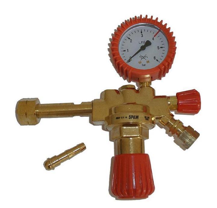 Propane propán-butane reduktor 1 propagačný manometer!