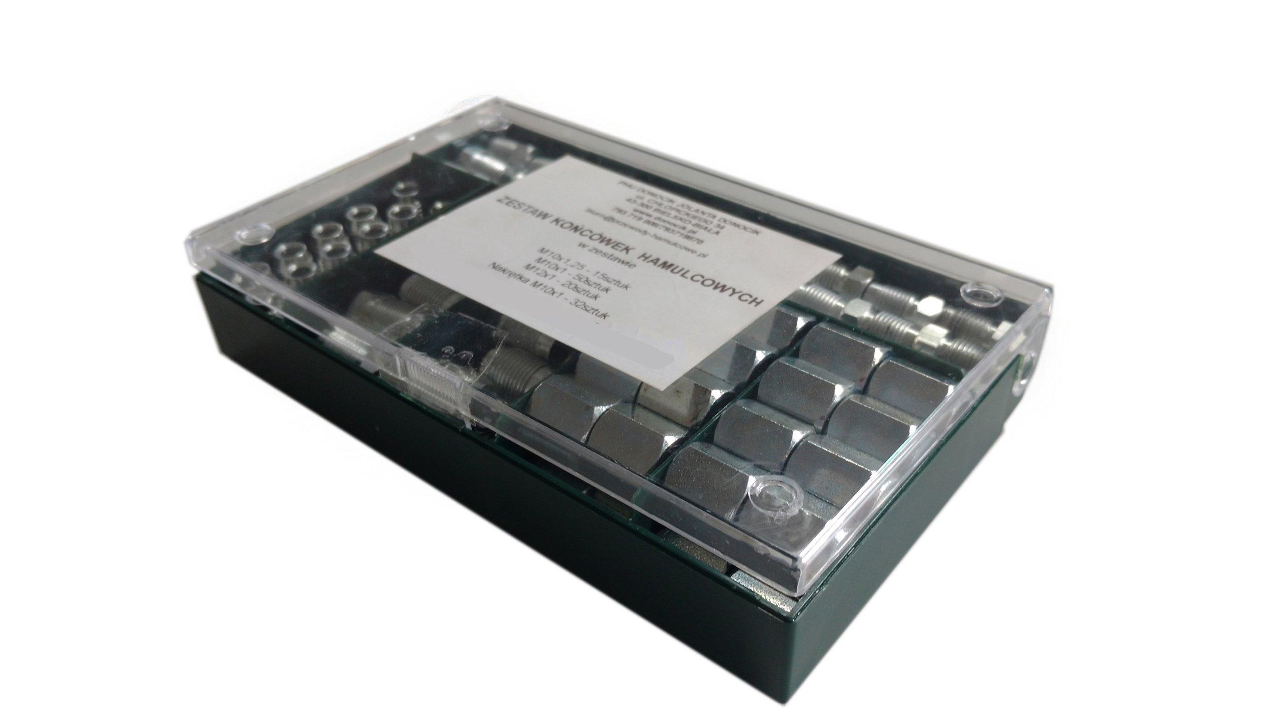 комплект наконечников к выпуска проводов колодок