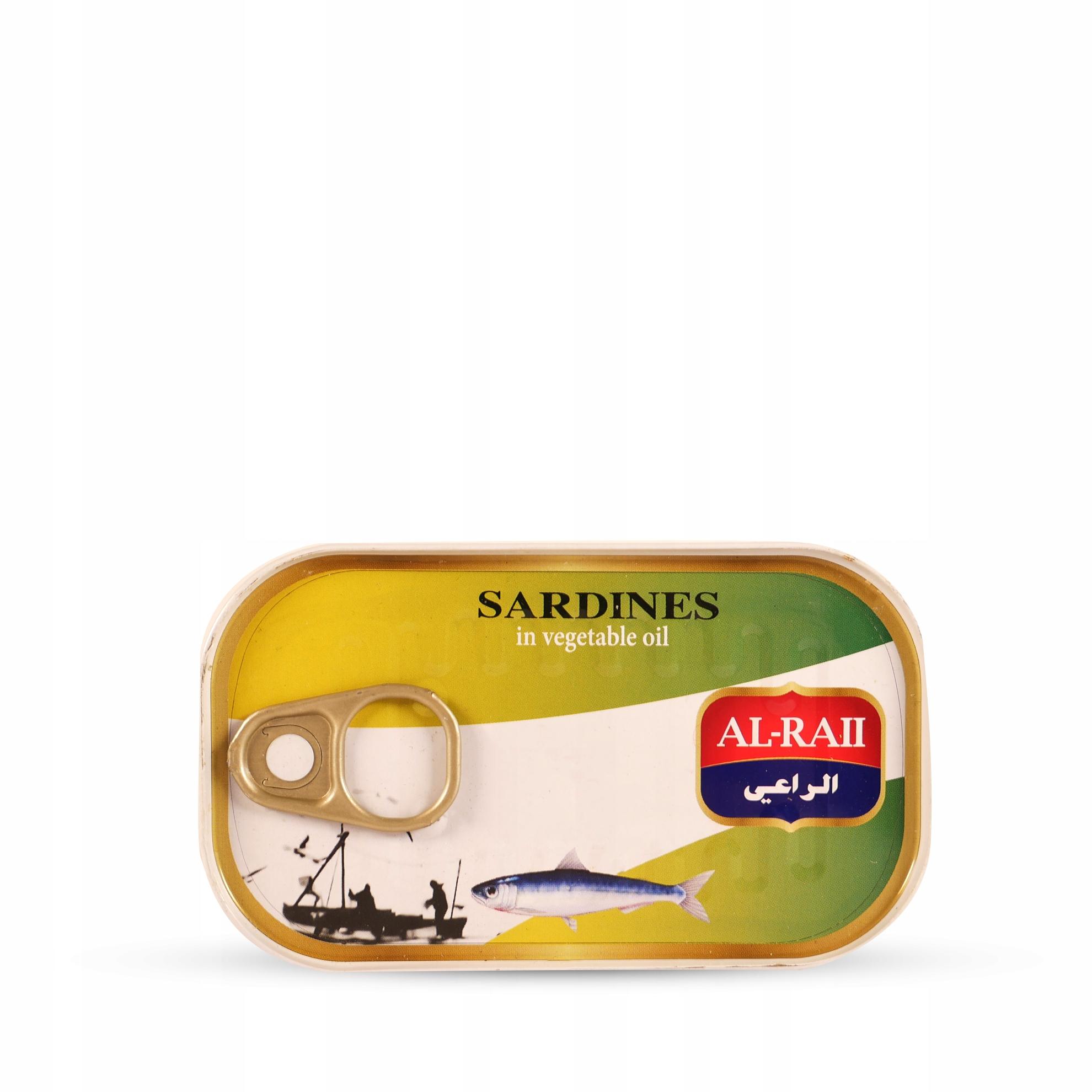 Купить Сардины МАРОККАНСКИЕ масла 125г МЯГКИЙ Аль-Raii на Otpravka - цены и фото - доставка из Польши и стран Европы в Украину.