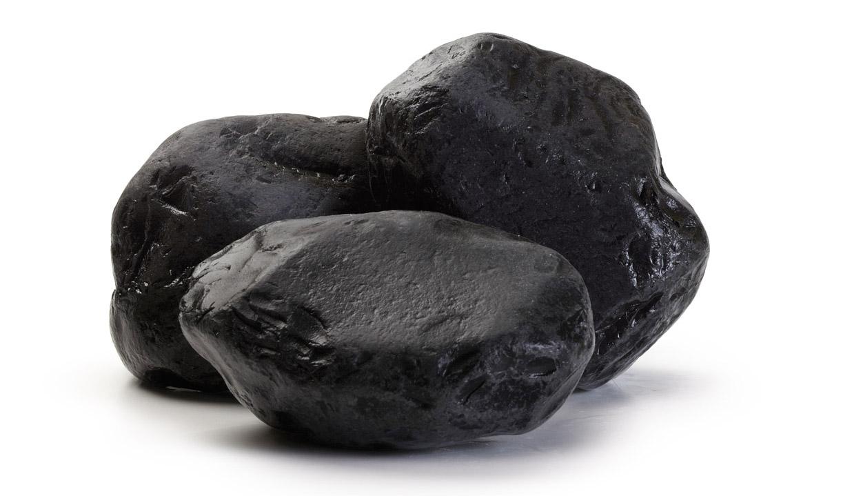 Čierny kameň 2-4 cm nero ebano pre záhradu