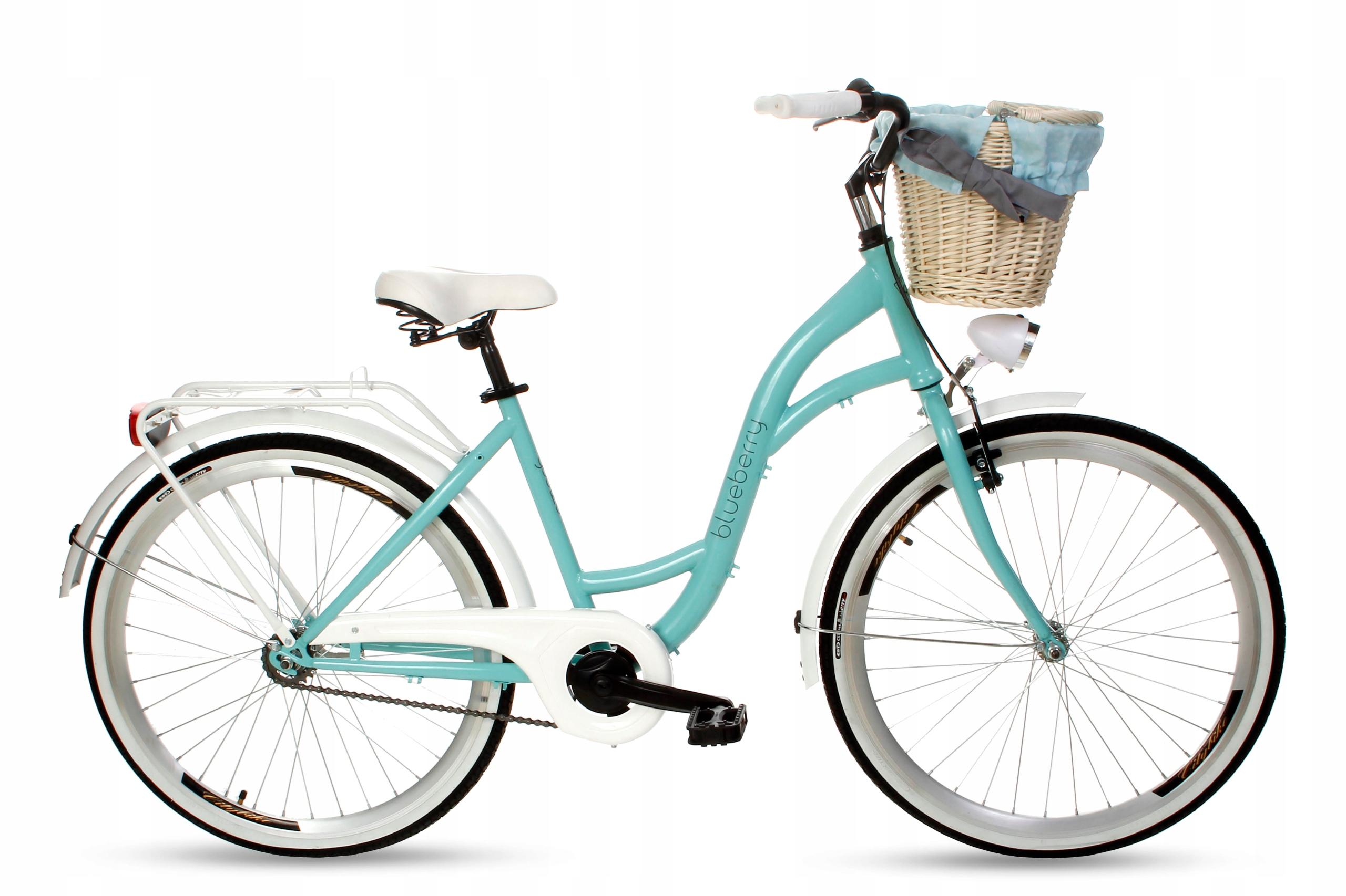 Dámsky mestský bicykel Goetze BLUEBERRY 26 košík!  Veľkosť rámu 17 palcov