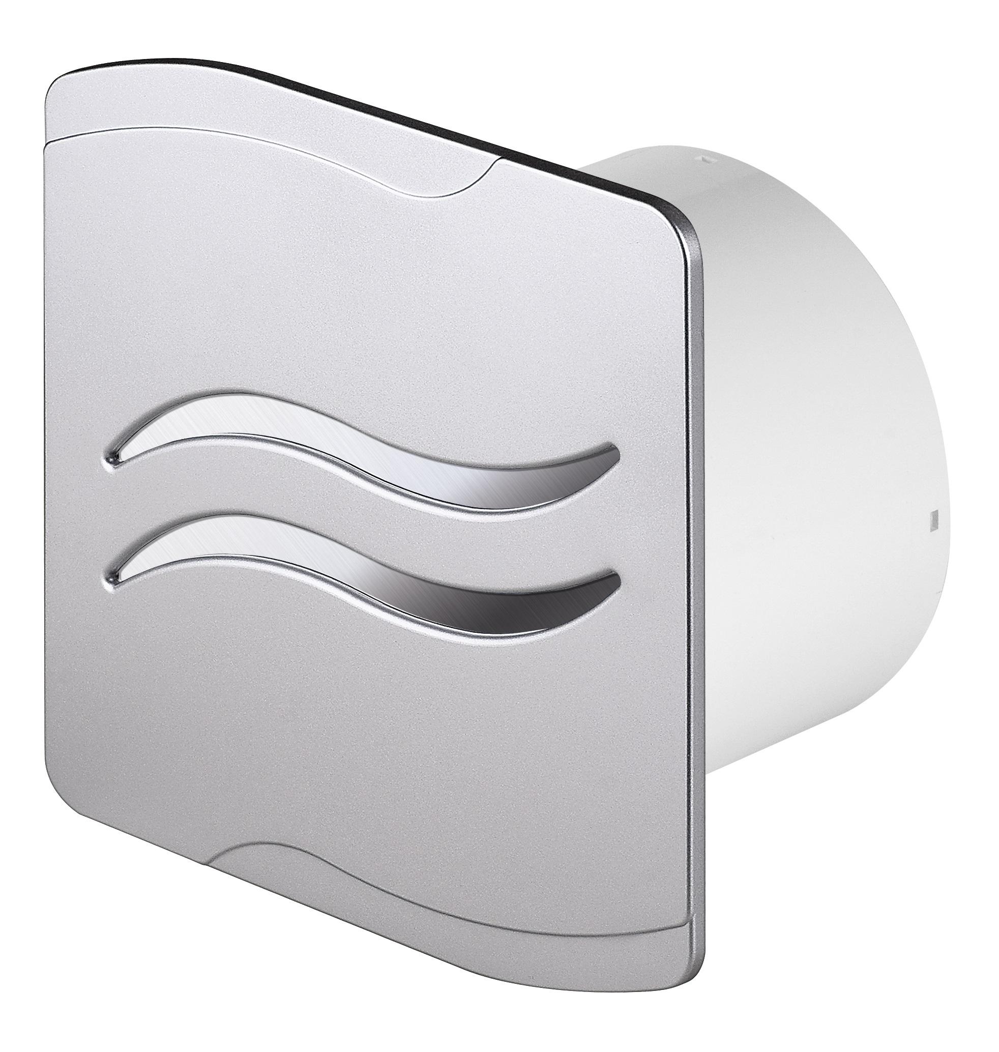 Awenta Kúpeľňa ventilátor WSS100 Satin