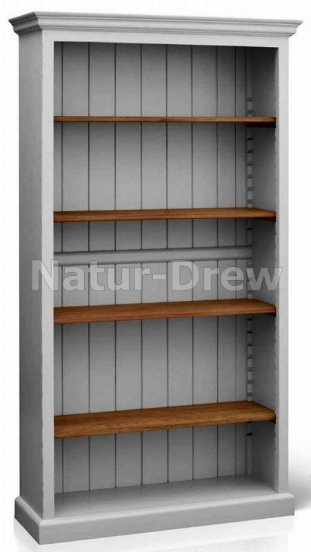 Novinka - Drevená knižnica RETRO 2 - VÝROBCA