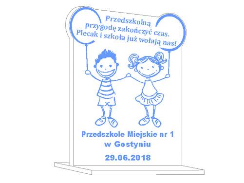 Статуэтка на окончание детского сада доставка товаров из Польши и Allegro на русском