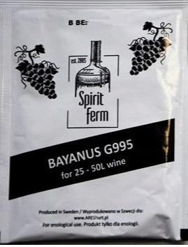 Item WINE wine YEAST Bayanus G995 SF 10g to 18%